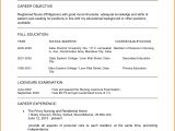 Sample Resume for Staff Nurse Position 15 Sample Of Curriculum Vitae for Job Application Wine