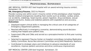 Sample Resume for Staff Nurse Position Hospital Nurse Resume Sample Monster Com