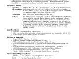 Sample Resume for System Administrator Fresher System Administrator Resume Sample Pdf Resume Ideas
