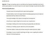 Sample Resume for Teaching Profession for Freshers Teacher Resume Sample 32 Free Word Pdf Documents