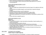 Sample Resume for Technical Lead software Technical Lead Resume Samples Velvet Jobs