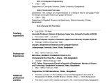 Sample Resume for the Post Of Teacher Sample Resume for the Post Of Teacher Best Letter Sample