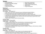 Sample Resume for Trainer Position Best Personal Trainer Resume Example Livecareer