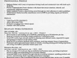 Sample Resume for Truck Driver with No Experience Truck Driver Resume Sample and Tips Resume Genius