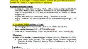 Sample Resume for Zero Experience Sample Resume for Zero Experience Sample Resume