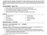 Sample Resume for Zonal Sales Manager Regional Sales Manager Resume Example Nutrition Fitness