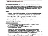 Sample Resume for Zonal Sales Manager Resume for Post Of Regional Zonal Manager