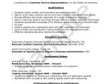 Sample Resume format for Call Center Agent without Experience Objective for Resume Customer Service Call Center Agent
