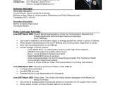 Sample Resume Letter for Job Application 12 Example Of Job Applying Resume Penn Working Papers