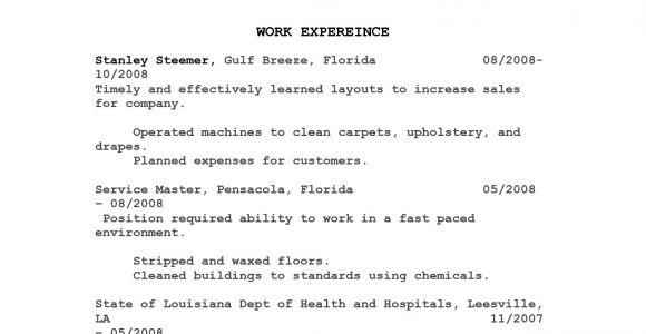 Sample Resume Objectives for Food Service Food Service Resumes Resume Sample Desktop and Beverage