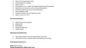 Sample Resume Objectives for Medical Receptionist 12 Medical Receptionist Jobs Resume Fresh format