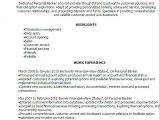 Sample Resume Of A Banker 1 Personal Banker Resume Templates Try them now