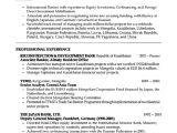 Sample Resume Of A Banker Banker Resume