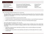 Sample Resume Of A Banker Investment Banking Resume Template Health Symptoms and