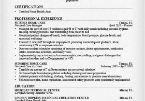 Sample Resume Of Caregiver for Elderly Babysitter Resume Example Writing Guide Resume Genius