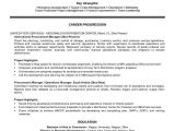 Sample Resume Of Purchase Manager Procurement Resume the Best Resume