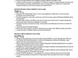 Sample Resume Of Purchase Manager Project Procurement Manager Resume Samples Velvet Jobs