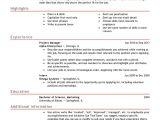 Sample Resume Templates Free Free Professional Resume Templates Livecareer