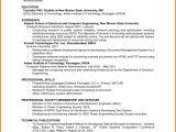 Sample Resume with One Job Experience 6 Job Resumes with No Experience Ledger Paper