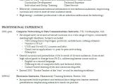 Sample Resume with One Job Experience Resume Work Experience Samples