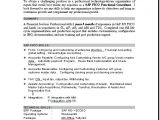 Sample Resume with Sap Experience Sample Resume Sap Consultant How to Write A Good Document
