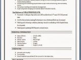 Sample Resume with Sap Experience Sap Sd Resume format