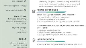 Sample Resume Yang Terbaik Contoh Resume Terbaik Lengkap Dan Terkini Mukah Pages