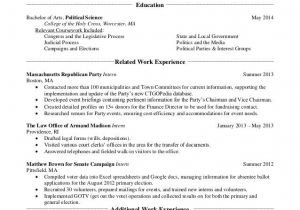 Sample Resumes for College Students College Student Job Resume Best Resume Collection
