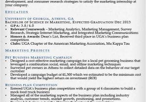 Sample Resumes for College Students Internship Resume Samples Writing Guide Resume Genius