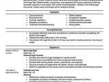 Sample Resumes for Lawyers Best Lawyer Resume Example Livecareer