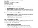 Sample Resumes for Students In High School Resumes Samples for High School Students High School