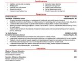 Sample Resums Free Resume Examples by Industry Job Title Livecareer