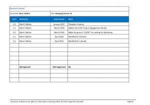 Sample Runbook Template soc Certification Runbook Template