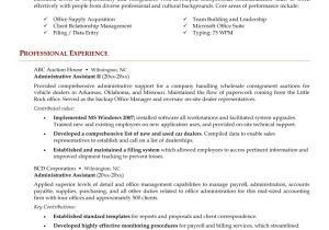 Samples Of Resumes for Administrative assistant Positions Administrative assistant Resume Resume Cv Example Template