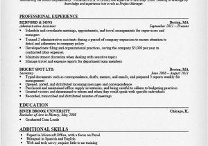 Samples Of Resumes for Administrative assistant Positions Administrative assistant Resume Sample Resume Genius