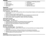 Samples Of Resumes for Administrative assistant Positions Best Administrative assistant Resume Example Livecareer