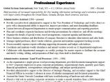 Samples Of Resumes for Administrative assistant Positions Sample Resume for Administrative assistant In 2016