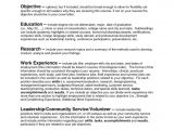 Samples Of Resumes with Objectives Sample Resume Objectives Resume Badak