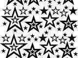 Sandblasting Templates Stars Blasting Stencils as Peel N Stick Stars 01