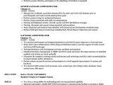 Sap Basis Administrator Resume Sample Sap Basis Administrator Resume Samples Velvet Jobs