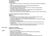 Sap Bpc Resume Samples Sap Intern Resume Samples Velvet Jobs