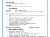 Sap Fico End User Resume Sample Sap Fico Resume