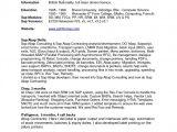 Sap Fico Resume Sample Pdf Sample Resume format for Sap Fico Freshers Resume