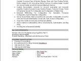 Sap Fico Resume Sample Pdf Sap Fico Consultant Resume Download