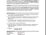 Sap Fico Sample Resume 3 Years Experience Sample Resume Sap Consultant How to Write A Good Document