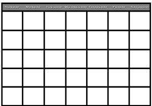 Saturday to Friday Calendar Template 2016 Sunday Through Saturday Calendar Calendar Template 2018