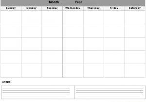 Saturday to Friday Calendar Template Sunday Through Saturday Calendar Calendar Printable Template