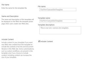 Save Site Template Sharepoint 2013 Save Site as Template In Sharepoint 2013