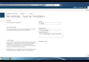 Save Site Template Sharepoint 2013 Sharepoint 2013 How to Save Your Site as A Template Youtube