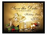 Save the Date Email Template Christmas Party Christmas Party Save the Date Templates Postcard Zazzle